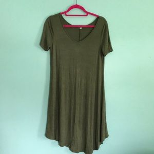 Swing dress short sleeve